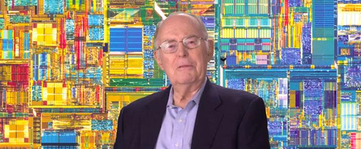 インテルの創業者であるゴードン・ムーア氏