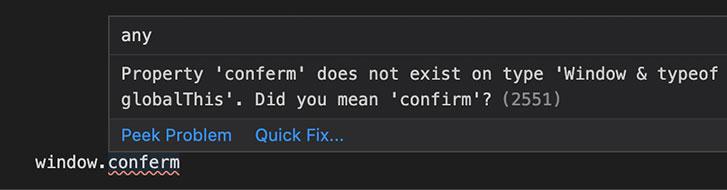 TypeScript のコンパイルエラー例②