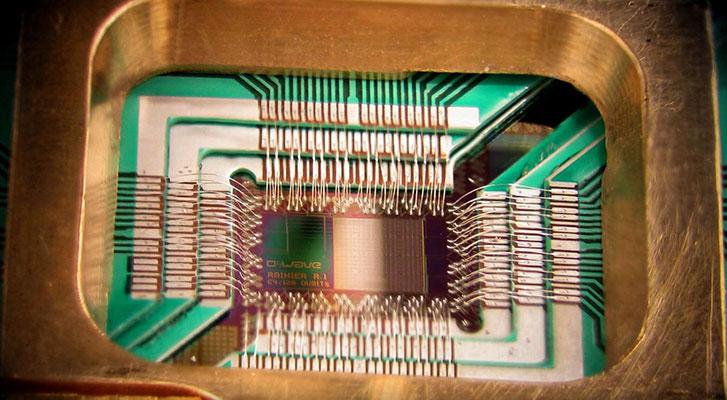 世界初の量子コンピュータD-Wave